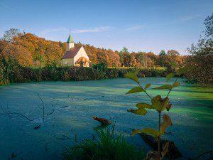 Die Kapelle St. Bartholomä bei Randeck.