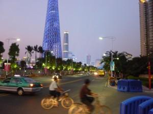 Guangzhou-2010-Guangzhou-Tower-street