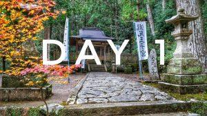 Kumano Kodo – day 1